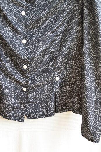 chemise vintage pois