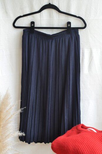 jupe plissee vintage