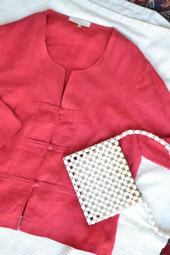 chemise lin liu