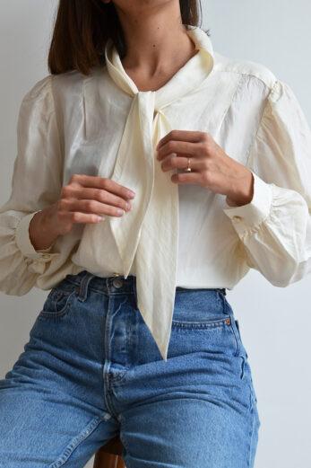 Chemise Lavaliere Blanchette