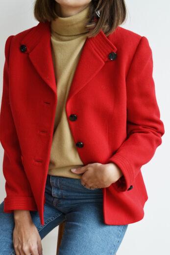 Veste Rouge Vintage Bourree Fils