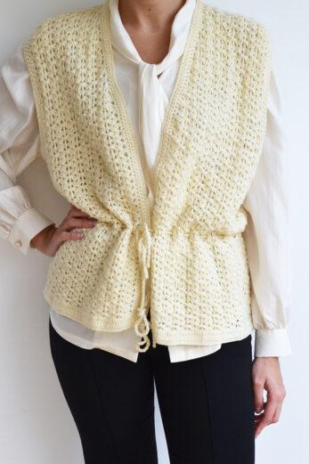 Gilet Crochet Marianne