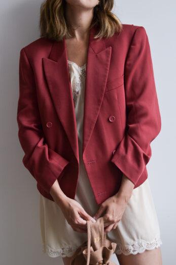 blazer rose vintage