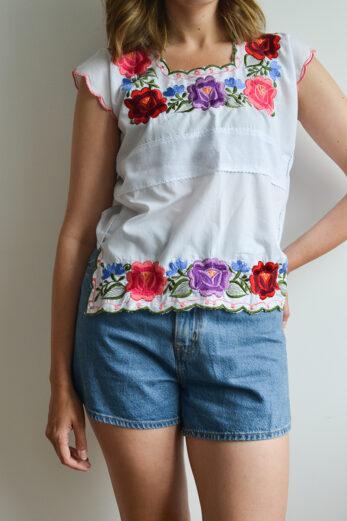 blouse vintage friperie en ligne